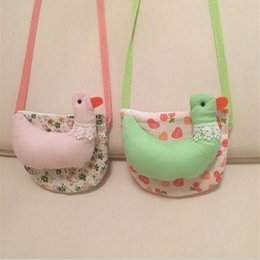 Wholesale Pretty Sale - best-selling Autumn Childrens Best Sale Pretty Messenger Bags Korean Style Girls Cartoon Floral Casual Princess Bags Kids One Shoulder Bags