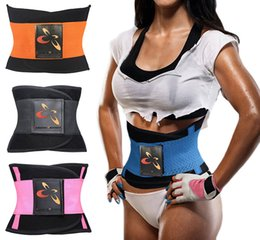 Wholesale training belts - 2017 Sexy Women Underwear Waist Training Corsets Hot Shaper Slimming Body Waist Trainer belt Corrective Modeling Strap Plus size