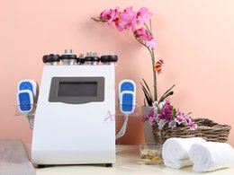 maquina de lavado de cara Rebajas Agradable 8 pastillas Lipo Láser Láser Cavitación Máquina de Adelgazamiento Vacío RF Elevación Facial Radio Frecuencia pérdida de peso celulitis equipos