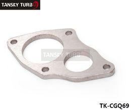 turbo-turbolader-kompressor Rabatt Für Mitsubishi DSM 4G63 / EVO1 ~ 3 / Galant Hochwertige Turbine zum Fallrohrflansch Tansky auf Lager TK-CGQ69