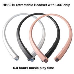 2019 beste bluetooth iphone HBS910 Headset Kopfhörer Sport Wireless Bluetooth 4.1 CSR Kopfhörer beste Qualität für iphone 7 plus s8 Rand hbs910 900 913 800 mit Paket günstig beste bluetooth iphone