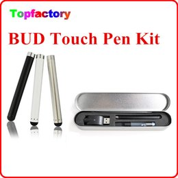 Wholesale Usa Sellers - Hot sale Bud atomizer O Pen Vape touch pen e cigarette vaporizer e cig top seller in USA individual metal box