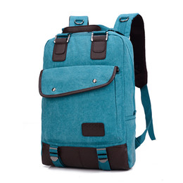 Wholesale Designed Notebooks - 2016 New Designed Men's Backpacks Bolsa Mochila for Laptop 14 Inch 15 Inch Notebook Computer Bags Men Backpack School Rucksack