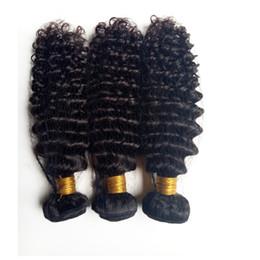 Işlenmemiş Brezilyalı bakire insan saçı atkı güzellik kinky kıvırmak saç uzantıları için Afro-amerikan saç 3 4 5 pics / lot çift atkı DHgate nereden