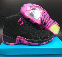 Wholesale perfect band - 2017 12 Doernbecher Carissa Navarro Basketball Shoes for Men Super Perfect Quality Men's Sneakers Love Family with Box US7-US13