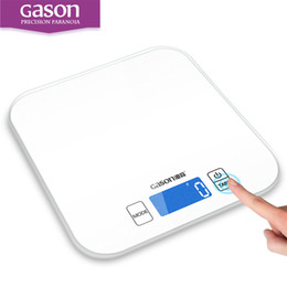 Wholesale Glass Cook - Gason C1 15kg 1g Kitchen Scales Electronic Precision Mini Measure Tools Balance Digital Gram Cooking Food Glass Lcd Display