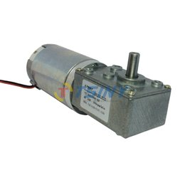 Wholesale 24v Dc Motor Controllers - 24V Metal Gear DC geared motor Planetary reduction 160RPM High torque, Electric dc worm gear motor,Free Shipping