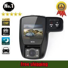 Wholesale Dvr Logo - [NO LOGO ] new mx6 car dvr Camera recorder ,super wide-angle, hd 1920*720p , night vision ,SINGLE Lens,free shipping