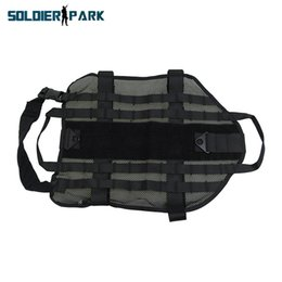 Wholesale Military Dog Clothing - Tactical High Visibility Mesh Pet Dog Vest Small Medium Large Xlarge Hunting Durable Airsoft Combat Military Pet Clothing Black order<$18no
