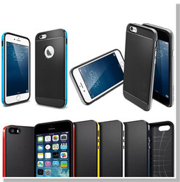 Wholesale Note Neo Hybrid Case - SGP Neo Hybrid Case Rugged Slim Armor Protector for iPhone 6 6plus 5 5S 4 4S Samsung S5 S6 S6 Edge Plus Note4 Note 5 with Retail Packaging