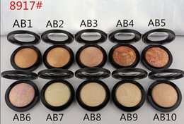 Wholesale Mineralize Skinfinish Foundation - 1pcs 2015 new brand makeup MINERALIZE SKINFINISH face cake powder Foundation 10g dropship free shipping
