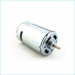 Motori standard da 12 volt 550 motori, spazzole motore elettrico in corrente continua in miniatura, motore elettrico ad alta velocità, J14414 da