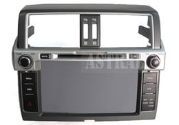 Wholesale Tv Dvd Screens For Navigator - Android Car Radio Car DVD 2 Din GPS Glonass Navigator for Toyota 2014 Prado 150 Quad Core 16G 3G Wifi BT RSD