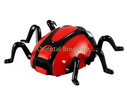 Wholesale Toy Climbers - Wholesale-1335 Infrared Remote Control Wall Climber Spider Toy