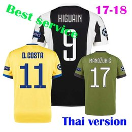 Wholesale Adults Claws - The best Thai version quality, free home delivery, 17 18 adult soccer jersey, dibaraman zhu keqi claw for adult jerseys The champions league