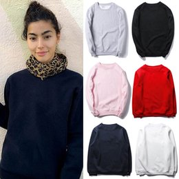 Wholesale Black Cashmere Sweater Xl - Brand sweater SUPRE ME red embroidery plus cashmere sweater red black gray white powder high-quality sweater size S -XXL
