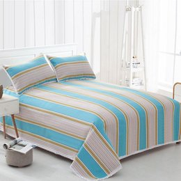 Wholesale Hand Embroidered Suits - Bedding article coarse cloth summer sleeping mat , Three piece suit cotton summer sleeping mat four seasons general