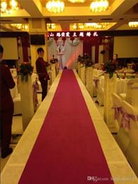 Wholesale Red Carpet Backdrops - 85cm Width 35m Per Roll White Non-woven Carpet Wedding Suppliers Wedding Backdrops Centerpieces Party T-Stage Carpet Decorations