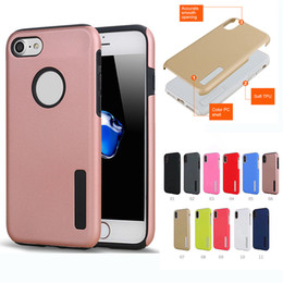 Wholesale Chinese Combo - Hybrid 2 in 1 Defender Case PC Silicone Combo Protective Robot Phone Cases For iPhone 8 7 6 6S Plus Sumsung Note8 S8 S7 Edge Plus J7 Case