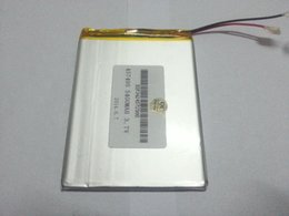 Wholesale External Battery For Blackberry - Tablet pc 3.7V,5400mAH (polymer lithium ion battery) Li-ion battery for tablet pc 7 inch 8 inch 9inch [457495] Free Shipping A5