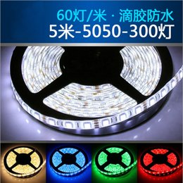 Wholesale Soft Article Lamp - Ultra-thin Led lights 5050 soft article lamp belt of the led lamp 60lights per meter