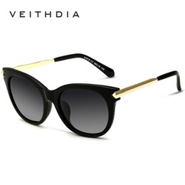 299ed998cf VEITHDIA TR90 Vintage Large Sun glasses Polarized Cat Eye Ladies Designer  Women Sunglasses Eyewear and Accessories For Women 7016