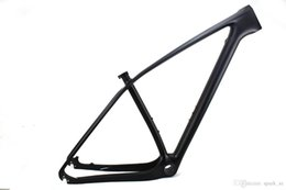 Wholesale Cycling 29er - 29er mountain bike UD carbon fiber frame MTB bicycle frames 142*12mm and 135*9mm compatible XC DH cycling bicycles parts