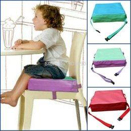 """Wholesale Chair Cushion Seat Pad - New Child Big Kids Portable Chair Booster Seat Cushion Floor Seat Pad 3"""" Thick"""