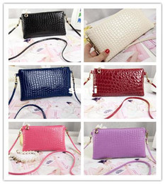 Wholesale Wholesale Mini Envelopes - Brand New Women PU Leather Hang Messenger Shoulder Hoho Purse Satchel Cross body Bag