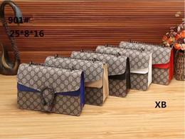 Wholesale Brand Clutch - Famous designer brand Women Messenger Shoulder Bags Patent Leather Clutch Chain Evening Socialite Tote Sac A Main Female Handbag