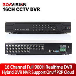 Wholesale 16Ch Full H D1 DVR Real time Recording Playback With HDMI P Output Channel Ch Hybrid DVR NVR CCTV Onvif P2P Cloud