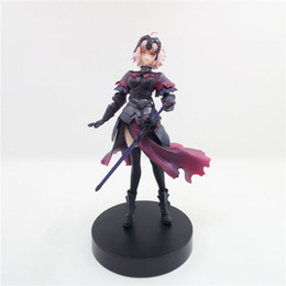 Wholesale Sexy Japanese Models - Suzannetoyland Wholesale sexy girl 16cm Japanese Anime Action figure Fate stay Night model Toy Gift Doll
