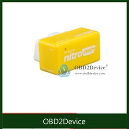 Wholesale Engine Tuning - Wholesale-NitroOBD2 for Benzine cars Plug Drive function the increasing the performance of engine OBD2 Chip Tuning