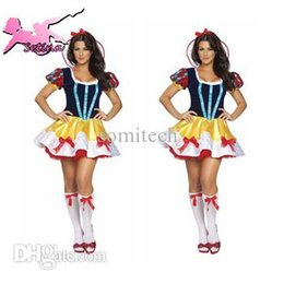 Wholesale Play Tale - Wholesale-cosplay Fairy Tale Princess Role-playing Dress fantasia halloween costumes for women High Quality christmas costumes HBX030