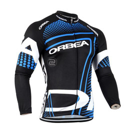 Wholesale Orbea Cycle Clothing - 2017 Orbea tour de france Cycling jersey Bike Clothing Men Cycling clothes Cycling Clothing Bike long sleeves Shirt Ropa Ciclismo B2801