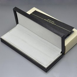 Wholesale Wood Pen Box Case - luxury AAA+ Marker M Brand pen Box with The papers Manual book , Pen box for mb pen , wood box