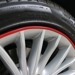 Wholesale Wheels Tires Sale - SALE Automotive wheel protection rings, protective strip \ tire rims scuff trim \ collision color strips