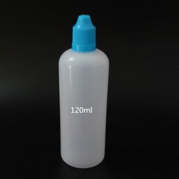 Wholesale E Smoke Juice - 2017 Hot sale 4OZ 120ml E juice e liquid smoke cigarettes bottle with Childproof Cap for Ejuice with 9 colors lids