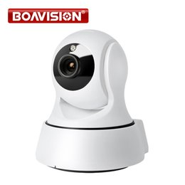 Wholesale Surveillance Ip Cameras - 720P WIFI IP Camera PTZ Wireless IR-Cut Night Vision Two Way Audio HD 1.0MP Surveillance CCTV Camera WI-FI P2P APP View