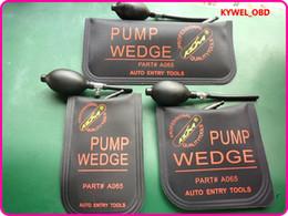 Grandi auto nere online-KLOM Piccolo / Medio / Big size air wedge Air pump wedge Gonfiabile Unlock Door car 3 pz / lotto spedizione gratuita-Nero