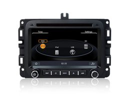 Wholesale Dodge Radio Gps - Car DVD Player GPS Navigation for Dodge RAM 1500 2014 2015 with Navigator Bluetooth TV Radio USB SD AUX Video Stereo Free Maps