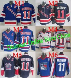 Wholesale ranger patches - 2015 Free Shipping Best Quality New York Rangers Jerseys #11 Mark Messier Jersey Stitch ny rangers jerseys Can add any patch