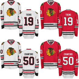 Wholesale Mens Jonathan Toews Corey Crawford Jersey Chicago Blackhawks Premier Away Home Stitched Blackhawk Hockey Jerseys Authentic size s xl
