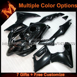 Wholesale Honda Cbr125r Fairings - 23colors+8Gifts BLACK bodywork motorcycle cowl For Honda 02 07 CBR125R 2002 2007 CBR 125R 02-07 ABS Plastic Fairing