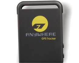 Wholesale Andriod Battery - TK106 mini GPS Tracker Locator and monitor any remote targets by SMS or GPRS   PET Tracker   Real Time gps tracker with two battery