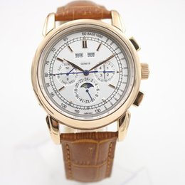 Wholesale Function Date - Auto Mechanical watch Men's size All dial works Auto PP watch Month year week date function