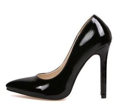Wholesale Size Black Sexy Shoes - 2015 hot sale Brand Women Bridal Shoes Red soles High Heels Sexy Woman Pumps Ladies Pointed Toe High Heels Shoes size 35-40