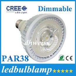 Wholesale Par38 Cree - LED E27 E26 20W Dimmable Led Lights Bulb PAR38 COB Led Spot Lights 2200lm High Brightness Warm Natrual Cold White AC 85-265V+CE ROHS
