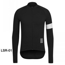 Wholesale Thermal Long Sleeve Shirts Men - Rapha Cycling Jerseys Long Sleeves Winter Thermal Fleece Bike Wear Comfortable Breathable Hot New Rapha Jerseys