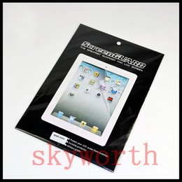 Wholesale High Definition LCD Clear Screen Protector Film Guard for ipad ipad air mini with retail package